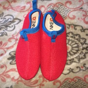 Nike Id red shoes